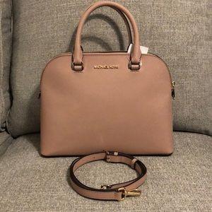 NWT - Michael Kors leather handbag